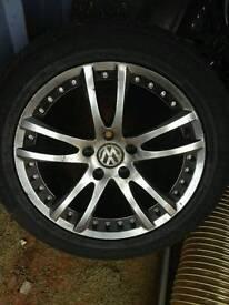 4 Volkswagon Alloy Wheels