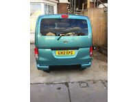 Nissan nv200 wheelchair accessible full service history low Milage in a very good condition