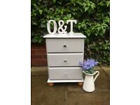 Single pine Bedside / Farrow & Ball