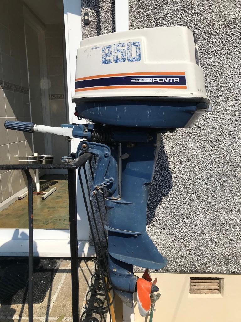 ARCHIMEDES PENTA 25hp Outboard Engine | in Plympton, Devon | Gumtree