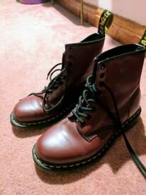 Dr Martens Red Air Wair Size 6