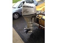 Honda Bf25 outboard boat engine