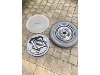 Ford mondeo/jaguar focus ect complete spare wheel and jack