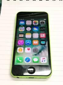 Apple iphone 5c unlocked 16gb green