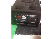 Maplin 230V To 110V 300W Voltage Converter UK Mains Plug To USA Transformer