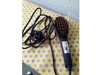 Heated hair brush