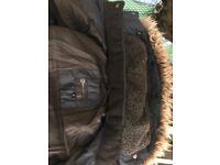 DNM dissident men's coat ( small) blue