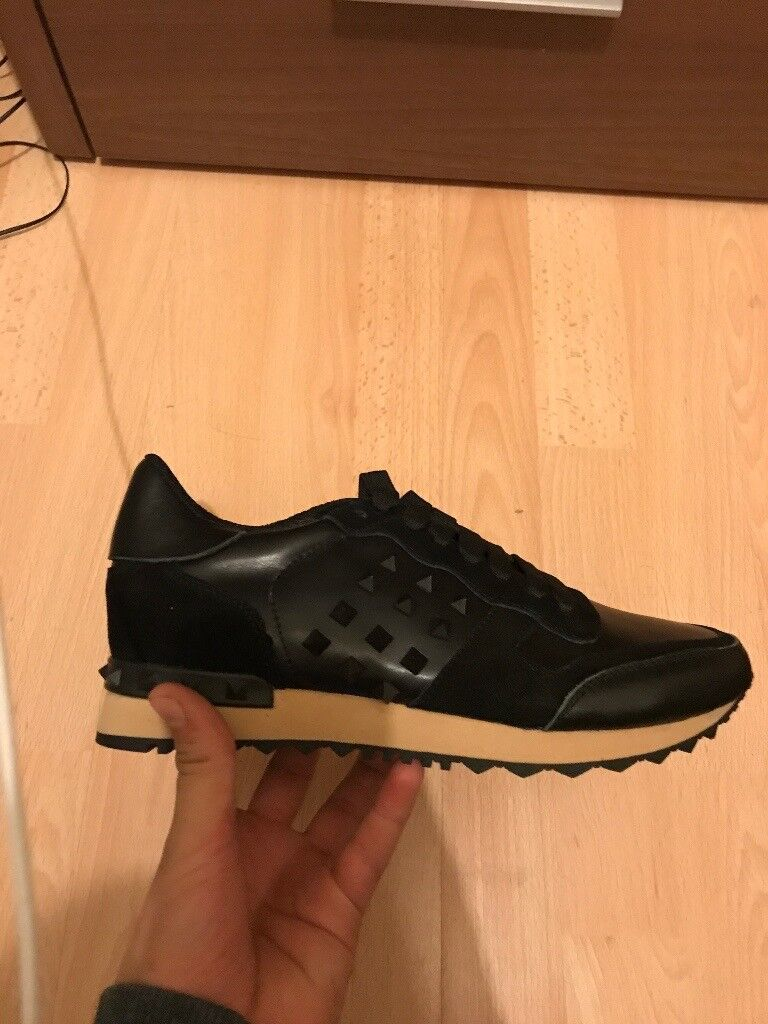 Valentino Rock Runners Studded Trainer