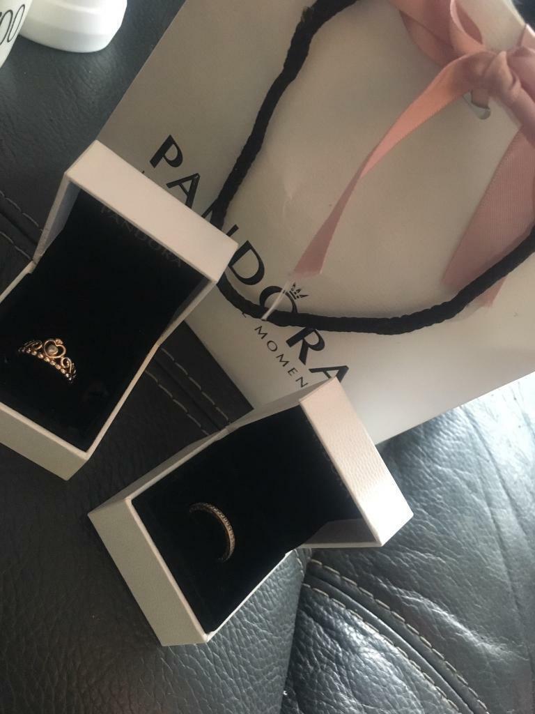 1da1af486 2 x set beautiful pandora rings stamped o ale R 52 | in Didsbury ...