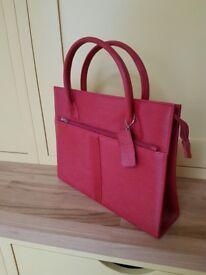 New and Unused Red Handbag