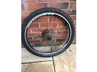 Panaracer Cinder 2.25 26 inch Tyre on Mach 1 Wheel