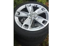 Audi A3 sport 17 inch alloys