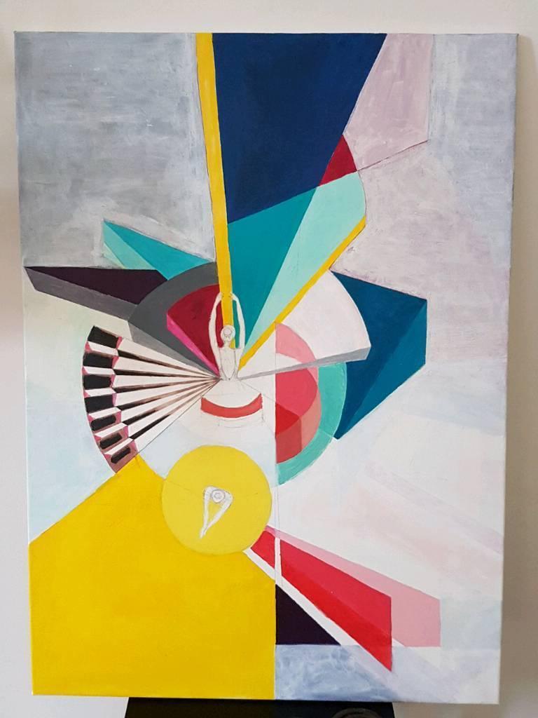 Beautiful Paint - picture - modern art- decoration