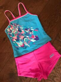 Girls 8 year old swimsuit tankini from Zogg