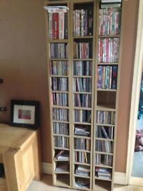 Cd/DVD storage units x 6 units.
