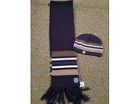 Chelsea hat and scarf set