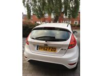 Ford Fiesta 1.2 Style, White 2012, 5 door, petrol, low mileage approx 42800