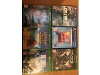Xbox one / Ps4 games sealed