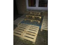 Free wooden pallets various sizes