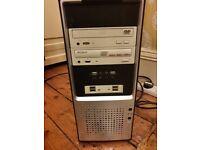 Windows 10 Intel Pentium PC, 3.17 GHz cpu. 4GB RAM, 120 GB SSD, 500 GB HDD & software