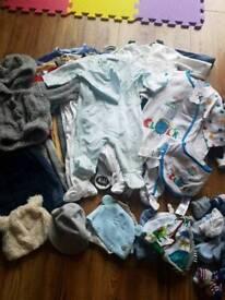 Baby clothes bundle 0-3m