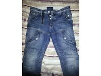 GSTAR RAW JEANS SIZE 34 EXCELLENT CONDITION BARGAIN PRICE