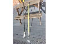 Long Handled Fork