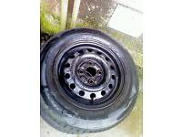 X4 part worn wheels and tyres, usable condition