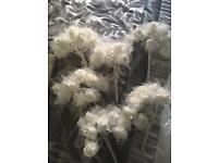 Wedding white flowers bouquets