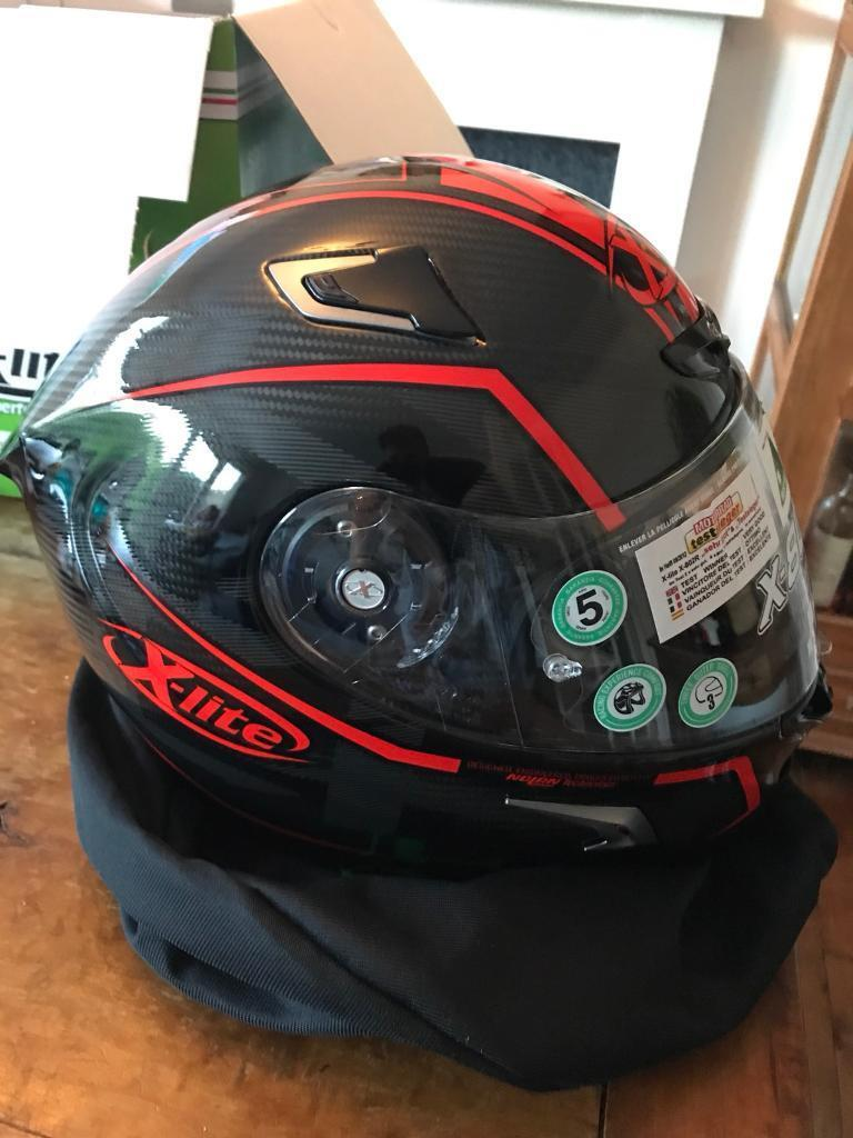 X-lite x802rr ultra carbon marquetry red size L, £360 ono