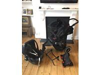 Phil and teds pram / car seat / buggy board