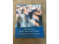 Social Sciences Book - Ordering Lives: Family, Work and Welfare