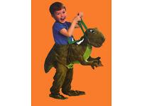 T-Rex ride on dinosaur costume