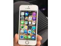 I phone 5 s silver 16gb