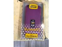 Otter box iPhone 6 Plus case purple