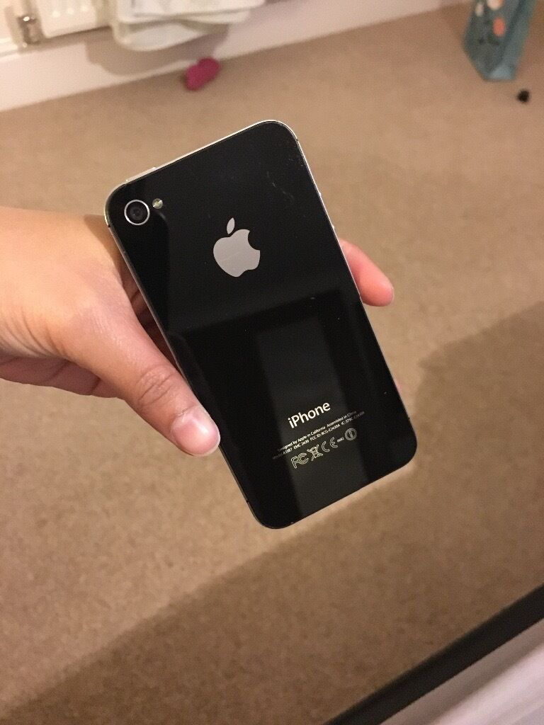 iPhone 4s 32gb black unlocked used.