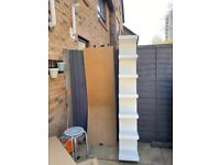 Lack wall shelf unit in white