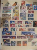 lot 12 timbres obliteres russie (450)449-6658 Michel
