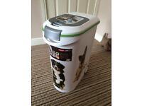 Curved Dry Dog Food Storage 54litre