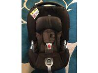 Cybex Aton Q Plus infant car seat for sale.