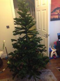 Christmas tree 6ft £5