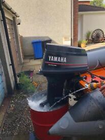 60HP Yamaha autolube power trim and tilt
