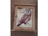 Owl key cupboard
