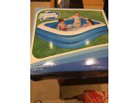 Brand new childrens paddling/swimming pool unopened 6'6ins long