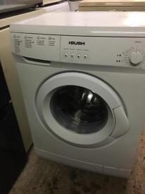 White 6kg 1200 Spin Bush Washing Machine Fully Working Order Vgc Just £75 Sittingbourne