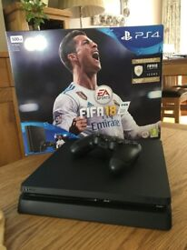 Playstation 4 500g Jet Black (FIFA 18 NOT INCLUDED)