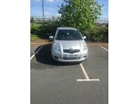 FSH Main dealer Toyota Yaris T3 VVT-i 1.0 1litre petrol manual cheap insurance 3 door 72k mileage