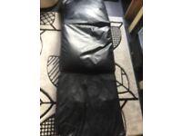 Bean bag chair/bed/foot rest
