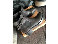 Wrangler Leather Boots Ladies sz6 NEW IN BOX