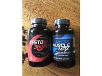 Hydro maxi muscle and Testo 360 plus